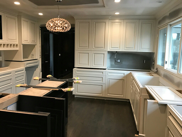 State of the Art - A Painting Company - Custom Cabinet Finishes